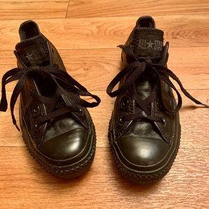 All Star Converse Black Women's Sneakers